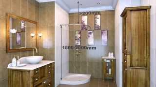 Карниз угловой для шторы CR-4 хром MONTERNO(Установка в ванной комнате углового карниза для шторы CR-4-Chrome с увеличенной нагрузкой. Размер карниза 900..., 2014-06-17T11:05:21.000Z)