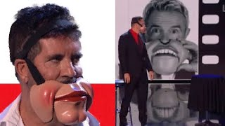 SIMON COWELL STORMS OFF STAGE