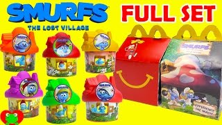 2017 Smurfs The Lost Village McDonald