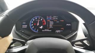 Lamborghini Huracan 100-180 Km/h Acceleration In Dubai 4K