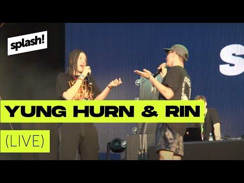Yung Hurn & Rin ► live @ splash! 19