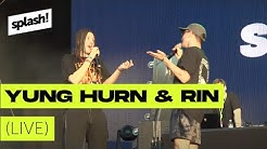 Yung Hurn & Rin ► live @ splash! 19 (Archiv)