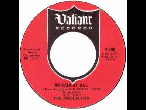 "Association – ""No Fair At All"" (Valiant) 1967 mp3"