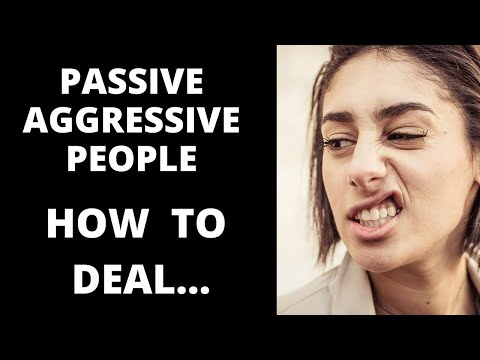Passive Aggressive Men and Women-Codependency Triggers