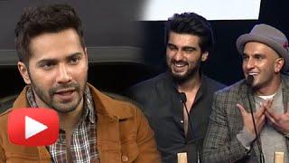 AIB KNOCKOUT CONTROVERSY | Varun Dhawan Reacts | Ranveer Singh, Arjun Kapoor