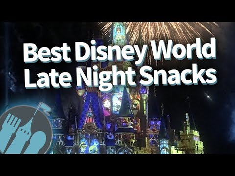 Where To Find Disney World Late Night Eats!