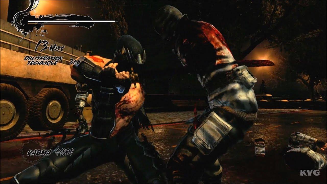 Ninja Gaiden 3 Razor S Edge Gameplay Xbox One X Hd 1080p60fps