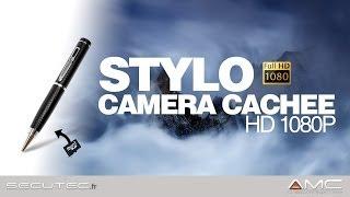 STYLO CAMERA ESPION HD 1080P [SECUTEC.FR]