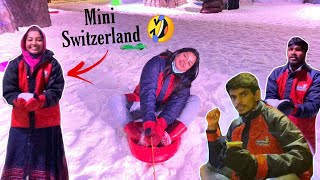 Semma enjoyment with Suhail and Pami at Snow World | 1 Million Celebration