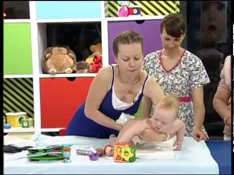 Гипотонус у малыша и массаж || ОВП