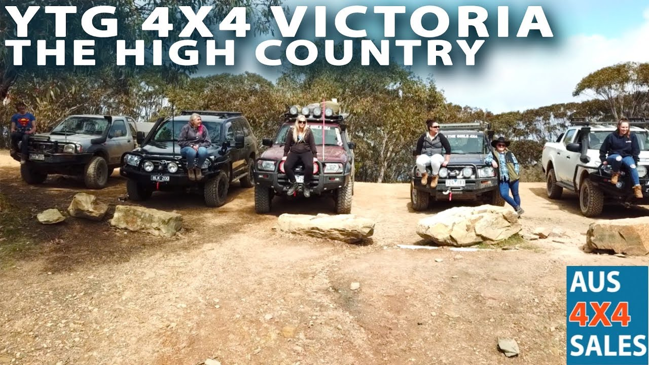 Yeah The Girls 4X4 Victoria Meet High Country - Mount Terrible to Matlock -  YTG