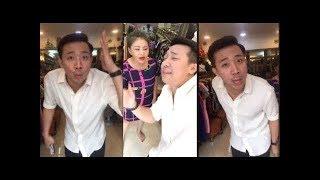 Trấn Thành lớn tiếng la mắng vì bị đòi nợ khi đưa bà xã Hari Won đi mua sắm