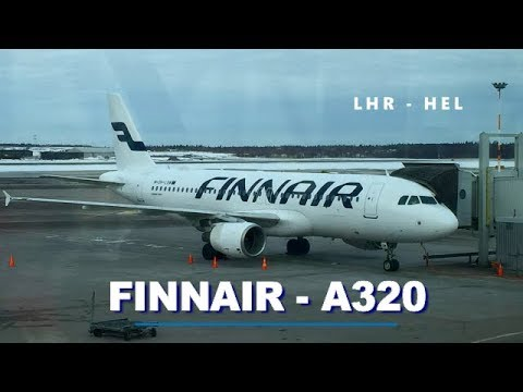 Trip Report | Finnair A320: London to Helsinki (Economy)
