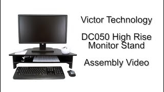 DC050 Monitor Stand Assembly Video