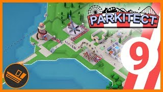 PARK ON A LAKE - Parkitect (Part 9)