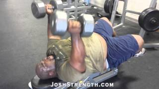 Robert Wilkerson, Rolling Dumbbell Triceps Extensions
