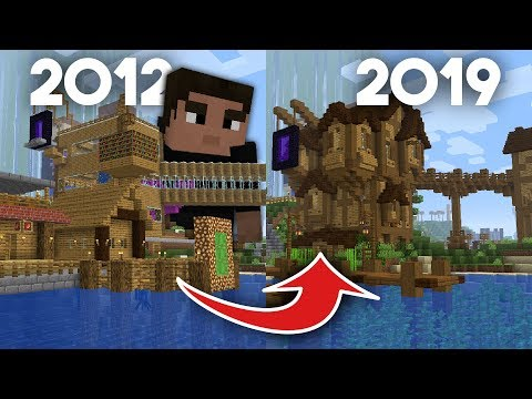 Transforming My First Minecraft World From 2012! | Part 1