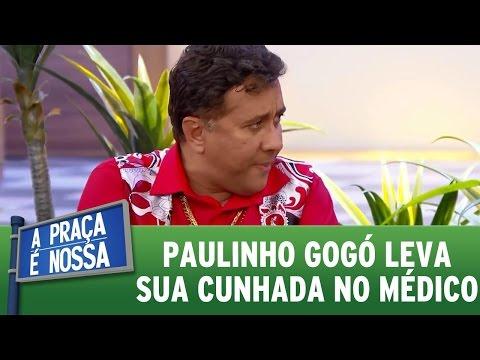 A Praça é Nossa (24/11/16) - Paulinho Gogó leva sua cunhada no médico