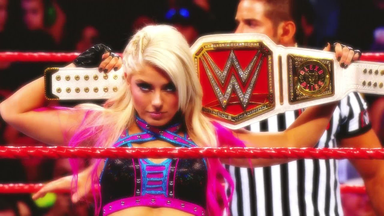 alexa bliss five feet of fury wwe network collection intro youtube