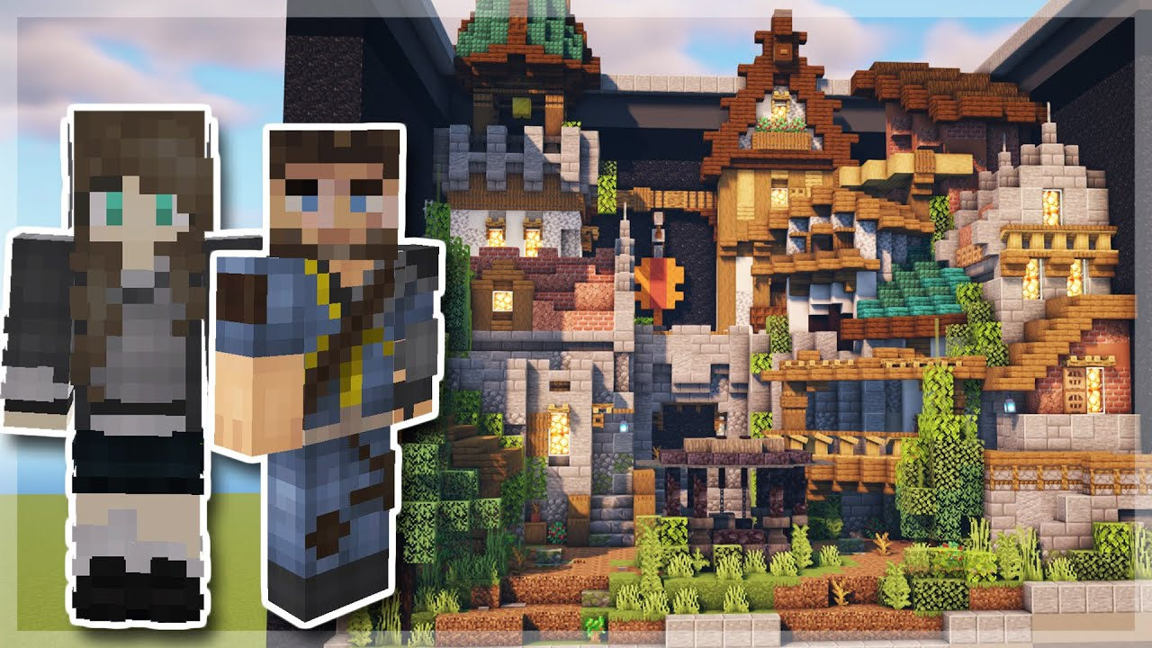 Minecraft Medieval Village Build! | The Build Collaboration You Didn't Know You Needed