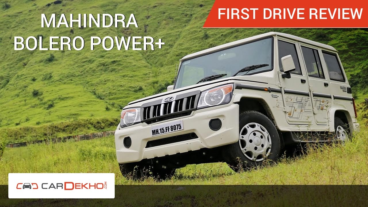 Mahindra Bolero Videos: Reviews Videos by Experts, Test Drive
