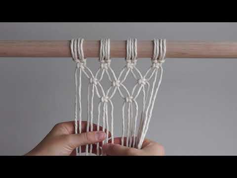 DIY Macrame Wall Hanging - 3 Ways to Start Your Work