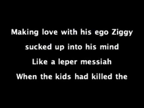 David Bowie - Ziggy Stardust Lyrics