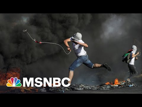 NBC's Richard Engel Reports From Active Demonstration In West Bank