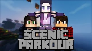 Minecraft z chłopakami I SCENIC PARKOUR #2 - Byczo!