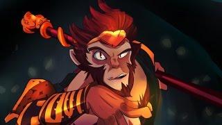 rampage с ботами dota 2 (Monkey King)