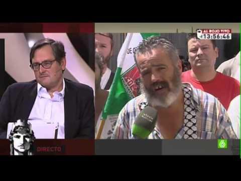Sánchez Gordillo acusa a 'La Razón' de terrorismo informativo