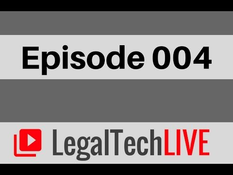 International Law Practice Management Software with LegalTrek - LegalTechLIVE - Episode 004