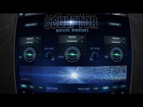 SCULPTOR Massive Whooshes Kontakt Sound Library - Trailer