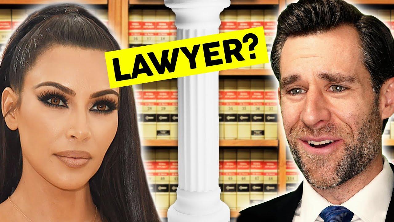 Kim Kardashian Attorney At Law??? (Real Law Review) // LegalEagle