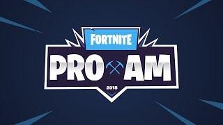PRO-AM CON FAMOSOS DE FORTNITE | E3 2018