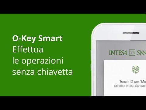 Effettua operazioni senza chiavetta - App Intesa Sanpaolo Mobile