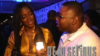 KENYA MOORE, APOLLO, JOE ,LOVE AND HIP HOP ,ON DEAD SERIOUS TV GONE WITH THE WIND