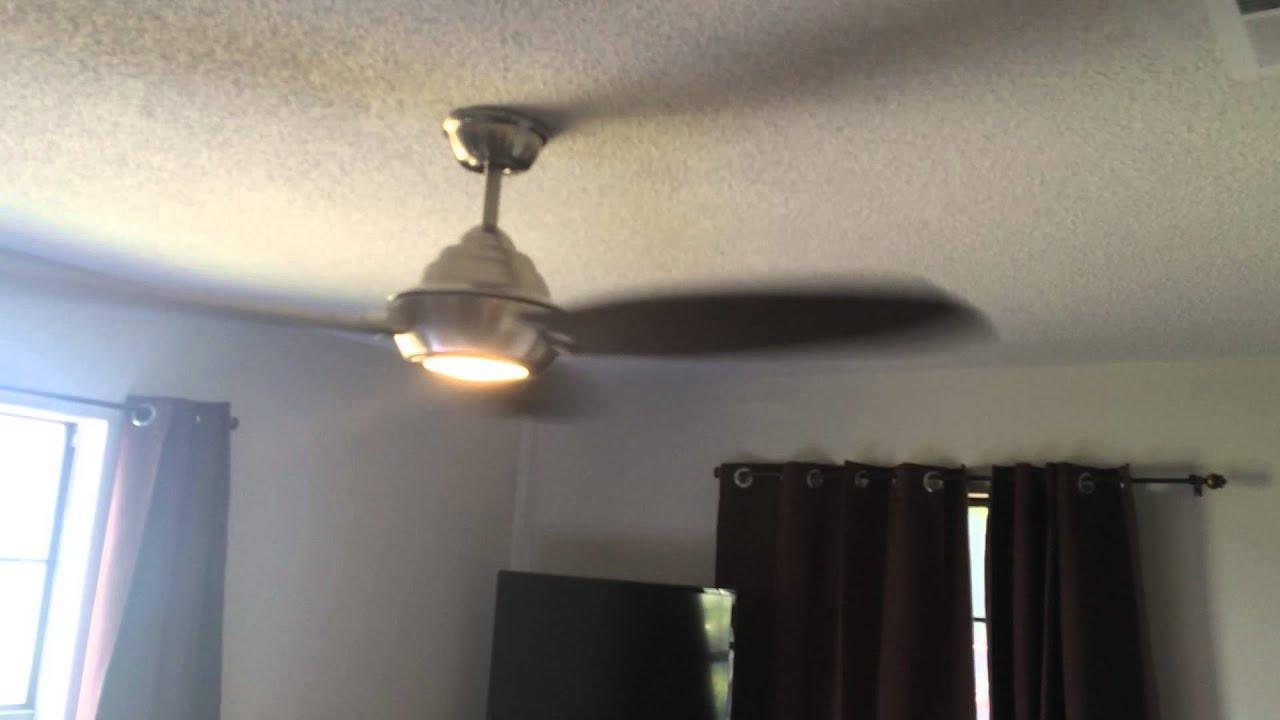 Aero Breeze 60 in Brushed Nickel Indoor Outdoor Ceiling Fan