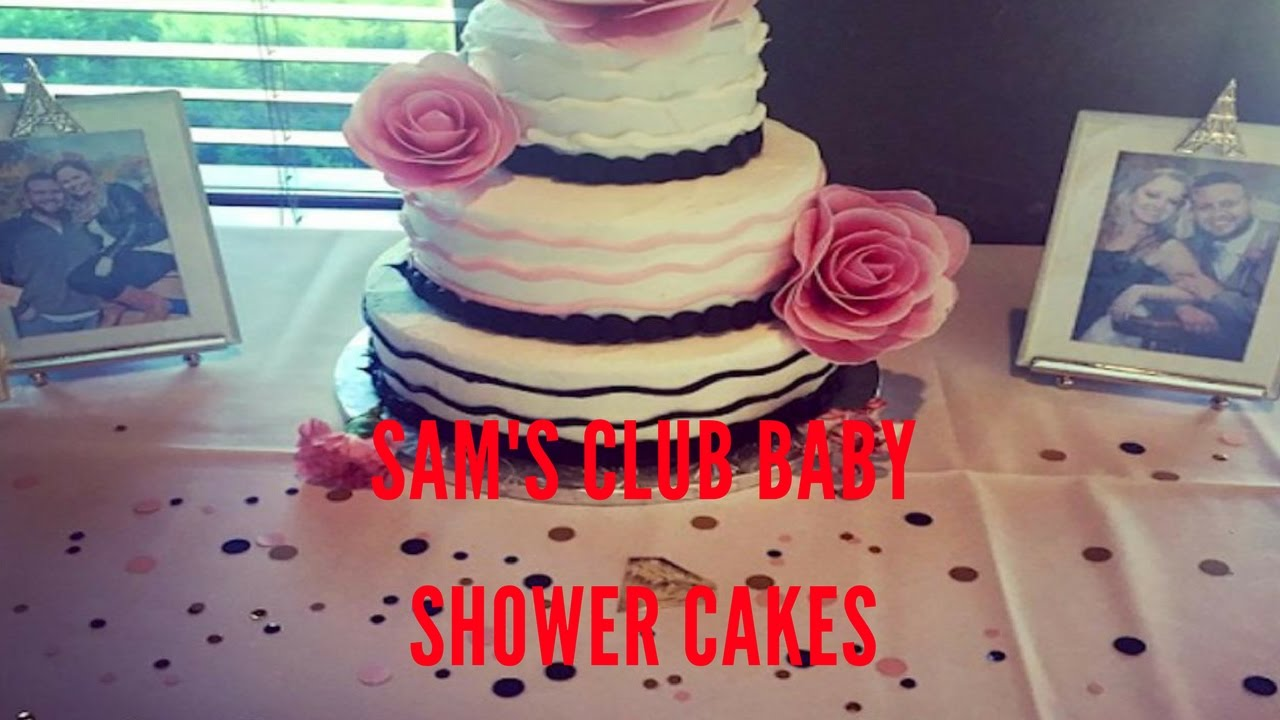 Sams Club Baby Shower Cakes Youtube
