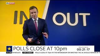 Decision Time : In or Out - Sky News 23 Jun 2016 21:30