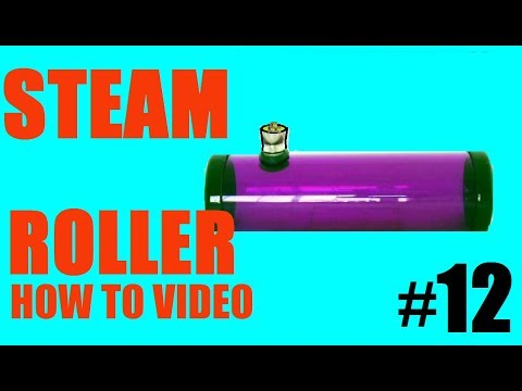 How To Make A Paper Towel Roll Steam Roller!!! (EASY)