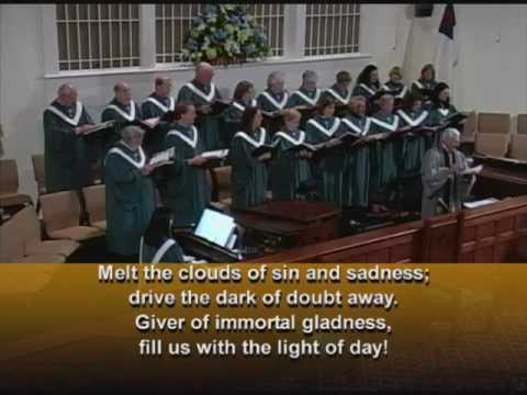 Joyful, Joyful, We Adore Thee (Ode to Joy) with Lyrics