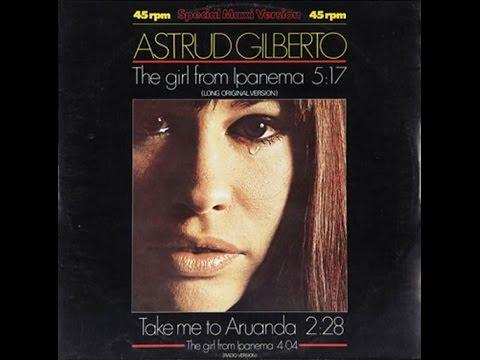 Astrud Gilberto - The Girl From Ipanema Lyrics | MetroLyrics