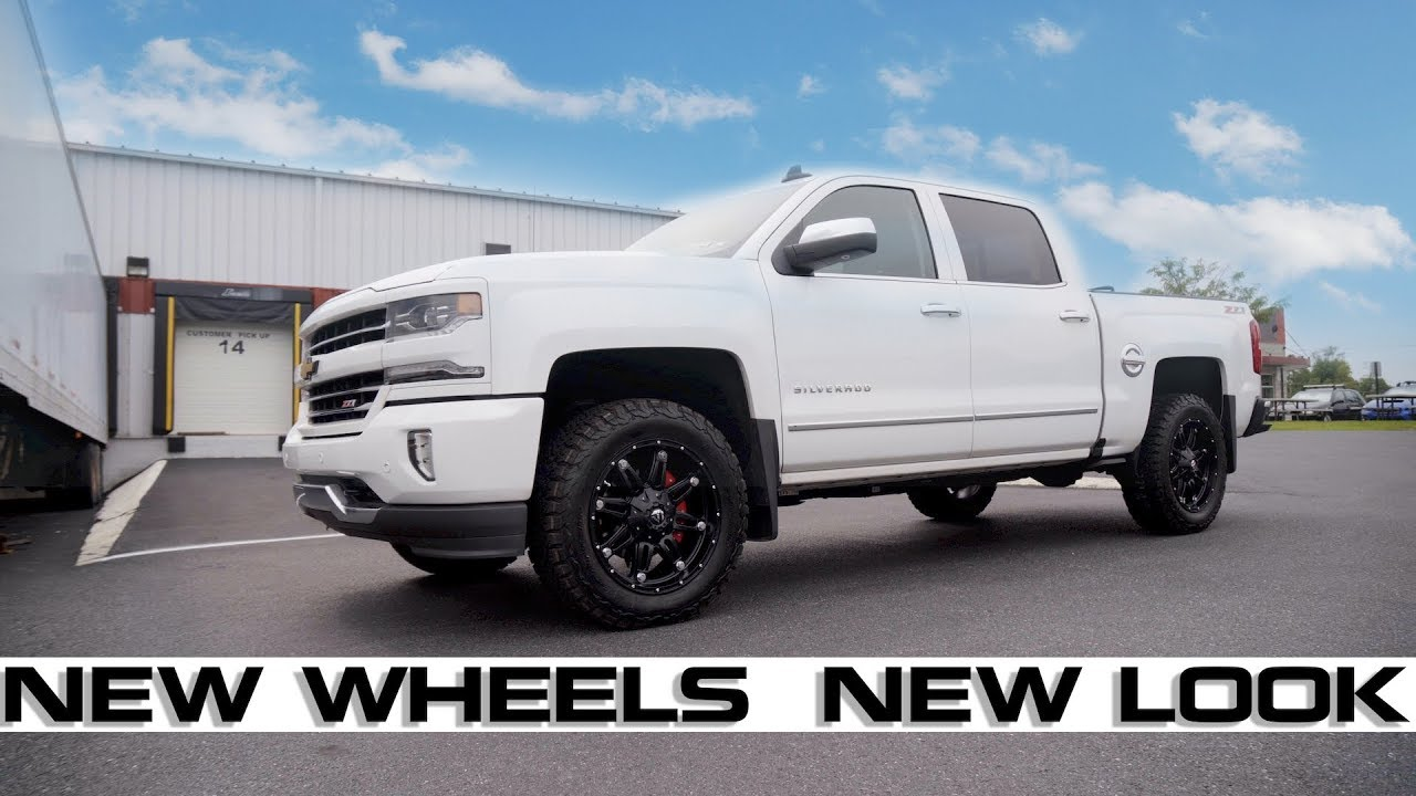 Chevrolet Silverado Gmc Sierra Fuel Hostage Wheels 20 X9 Matte Black 2007 2017