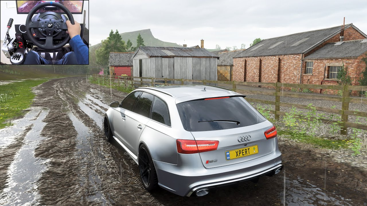 Audi RS6 Avant - Forza Horizon 4 | Thrustmaster T300RS