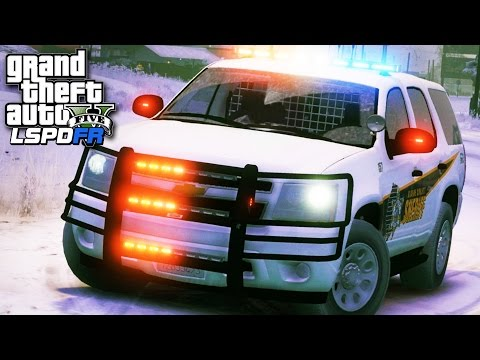 GTA 5 LSPDFR SP #233 - Christmas Tree SUV