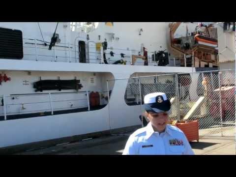 United States Coast Guard Cutter Sherman WHEC-720  SF Fleet Week 2012 -1