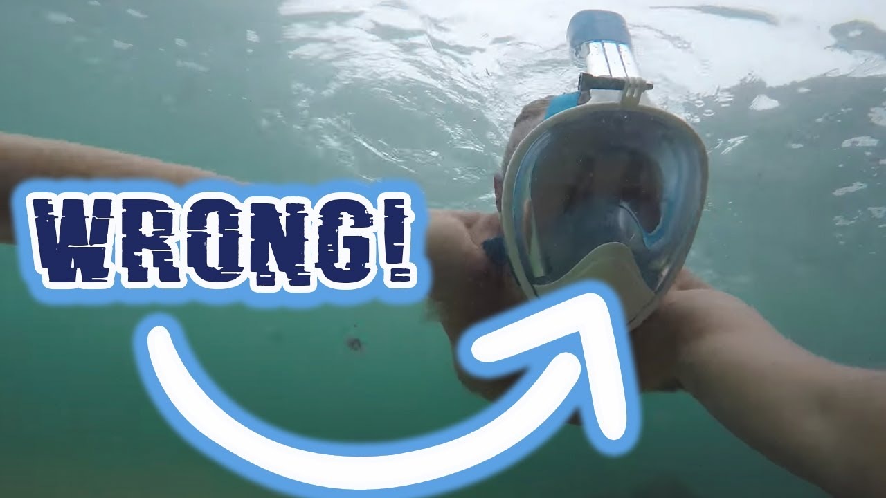 4849a97b3 1 Thing Wrong With The Seaview 180 Full Face Snorkel Mask - YouTube