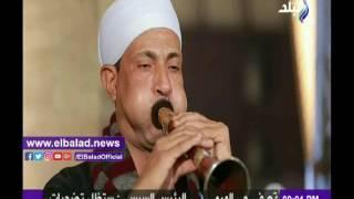 حمدي رزق يحتفل بذكرى المولد النبوي الشريف .. فيديو