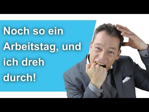 Noch so ein Arbeitstag, und ich dreh durch! YouTube Hörbuch Trailer auf Deutsch